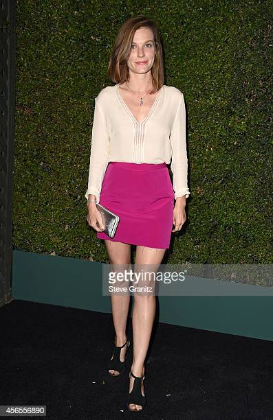 Actress Lindsay Burdge attends Claiborne Swanson Frank's Young Hollywood book launch hosted by Michael Kors at Private Residence on October 2 2014 in...