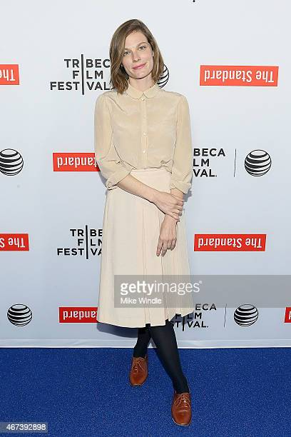 Actress Lindsay Burdge attends the 2015 Tribeca Film Festival LA Kickoff Reception at The Standard Hollywood on March 23 2015 in West Hollywood...