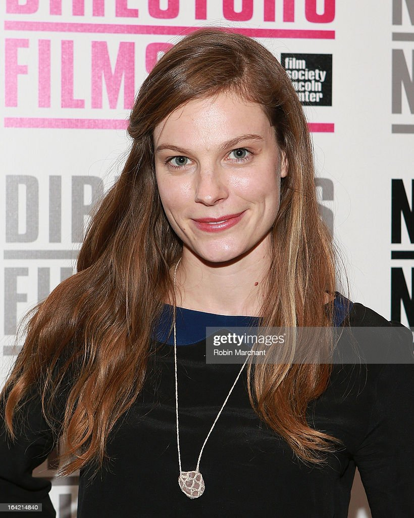 Actress Lindsay Burdge attends the New Directors/New Films 2013 Opening Night screening of 'Blue Caprice' at the Museum of Modern Art on March 20, 2013 in New York City.