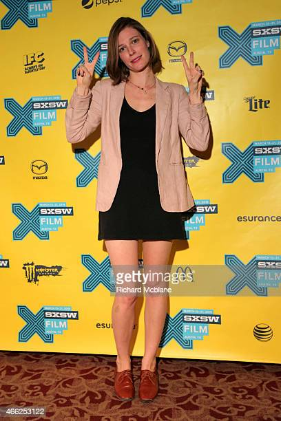 Actress Lindsay Burdge attends the premiere of '6 Years' during the 2015 SXSW Music Film Interactive Festival at Alamo Ritz on March 14 2015 in...