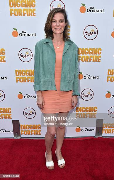 Actress Lindsay Burdge attends the premiere of 'Digging for Fire' at The ArcLight Cinemas on August 13 2015 in Hollywood California