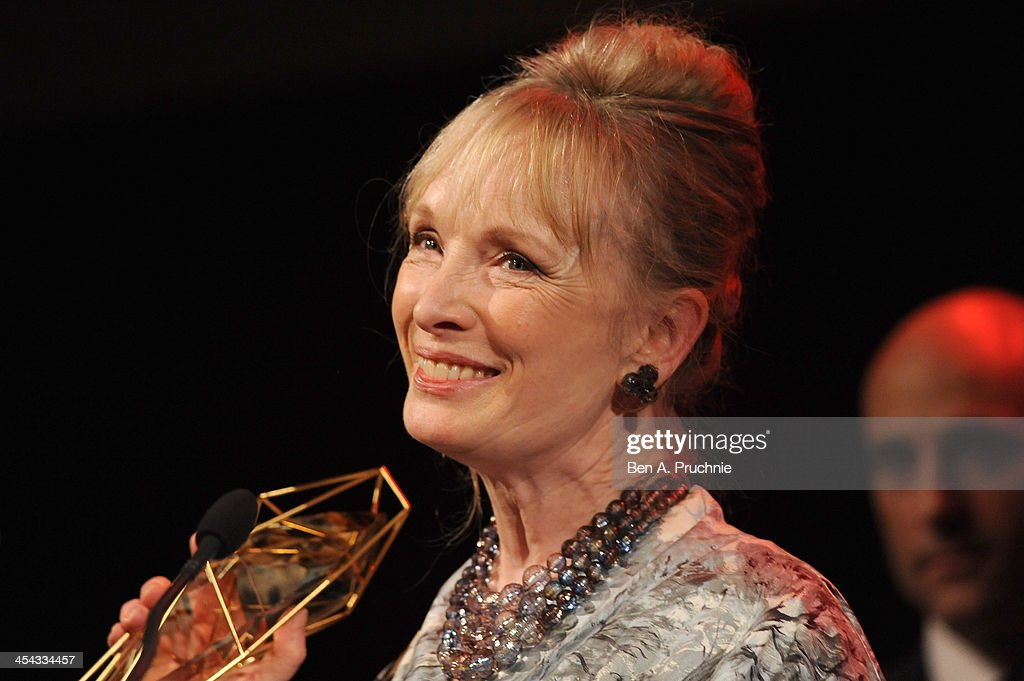 Actress <a gi-track='captionPersonalityLinkClicked' href=/galleries/search?phrase=Lindsay+Duncan&family=editorial&specificpeople=629187 ng-click='$event.stopPropagation()'>Lindsay Duncan</a> receives the award for Best Actress as she attends the ceremony for the Moet British Independent Film Awards at Old Billingsgate Market on December 8, 2013 in London, England.