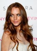 Actress Lindsay Lohan arrives at the launch of Sevin Nyne By Lindsay Lohan held at Sephora on April 30 2009 in Santa Monica California