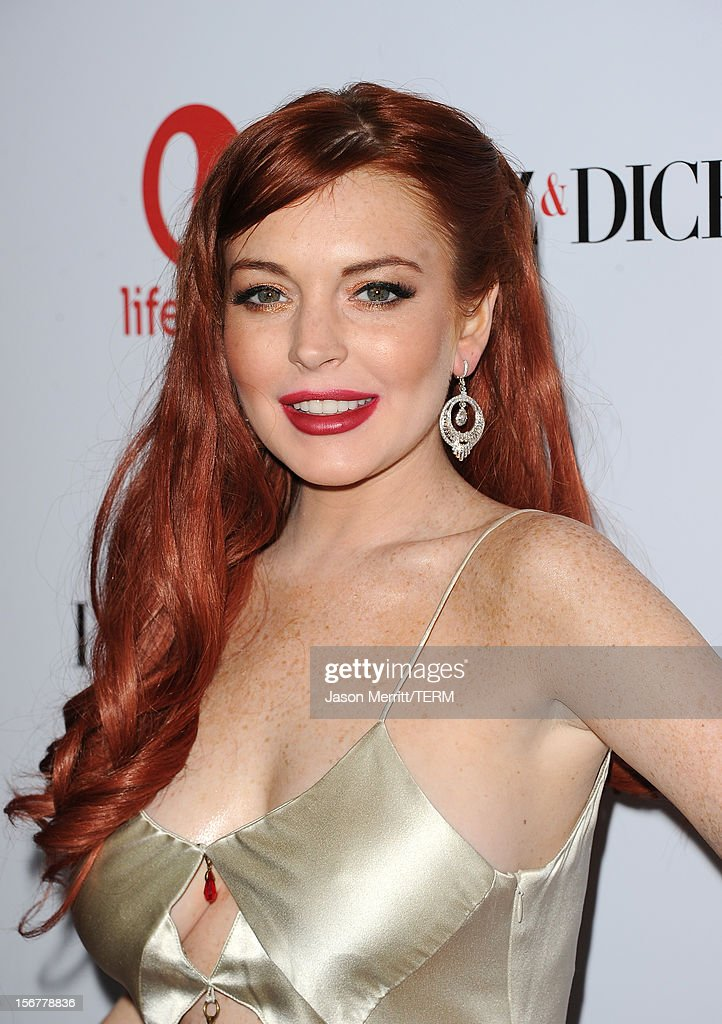 Actress <a gi-track='captionPersonalityLinkClicked' href=/galleries/search?phrase=Lindsay+Lohan&family=editorial&specificpeople=171623 ng-click='$event.stopPropagation()'>Lindsay Lohan</a> attends the premiere of Lifetime's 'Liz & Dick' at Beverly Hills Hotel on November 20, 2012 in Beverly Hills, California.