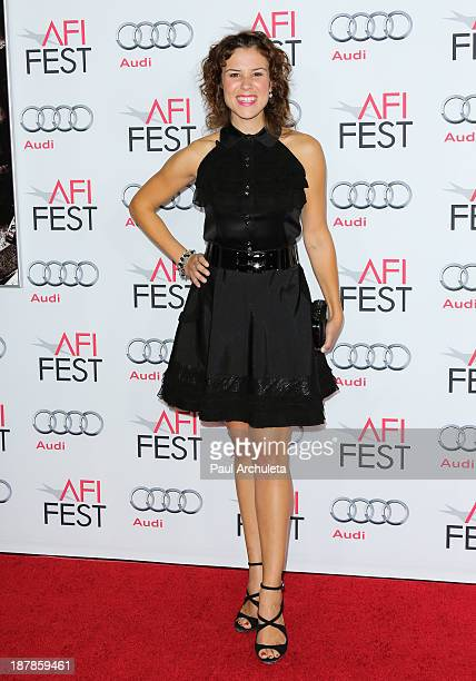 Actress Lindsay McDonald attends the screening of 'Lone Survivor' at AFI FEST 2013 at the TCL Chinese Theatre on November 12 2013 in Hollywood...