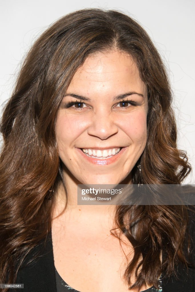 Actress Lindsay Mendez attends 'BARE The Musical' Opening Night at New World Stages on December 9, 2012 in New York City.
