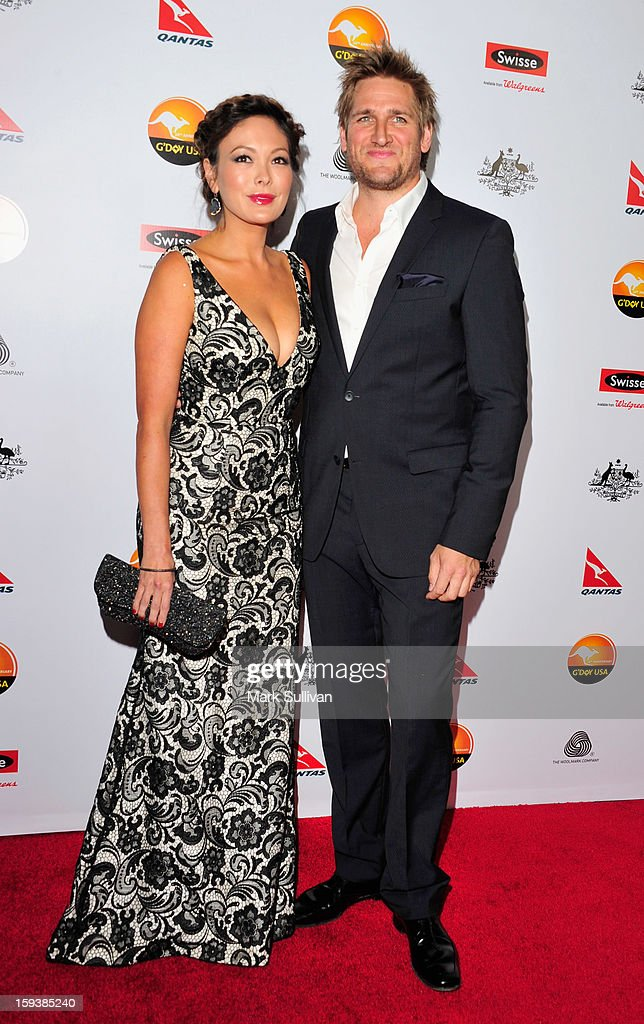 Actress <a gi-track='captionPersonalityLinkClicked' href=/galleries/search?phrase=Lindsay+Price&family=editorial&specificpeople=3081948 ng-click='$event.stopPropagation()'>Lindsay Price</a> and chef <a gi-track='captionPersonalityLinkClicked' href=/galleries/search?phrase=Curtis+Stone&family=editorial&specificpeople=215291 ng-click='$event.stopPropagation()'>Curtis Stone</a> arrive for the G'Day USA Black Tie Gala held at at the JW Marriot at LA Live on January 12, 2013 in Los Angeles, California.