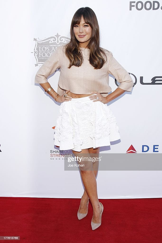 LEXUS Live On Grand At The 3rd Annual Los Angeles Food & Wine Festival - Arrivals
