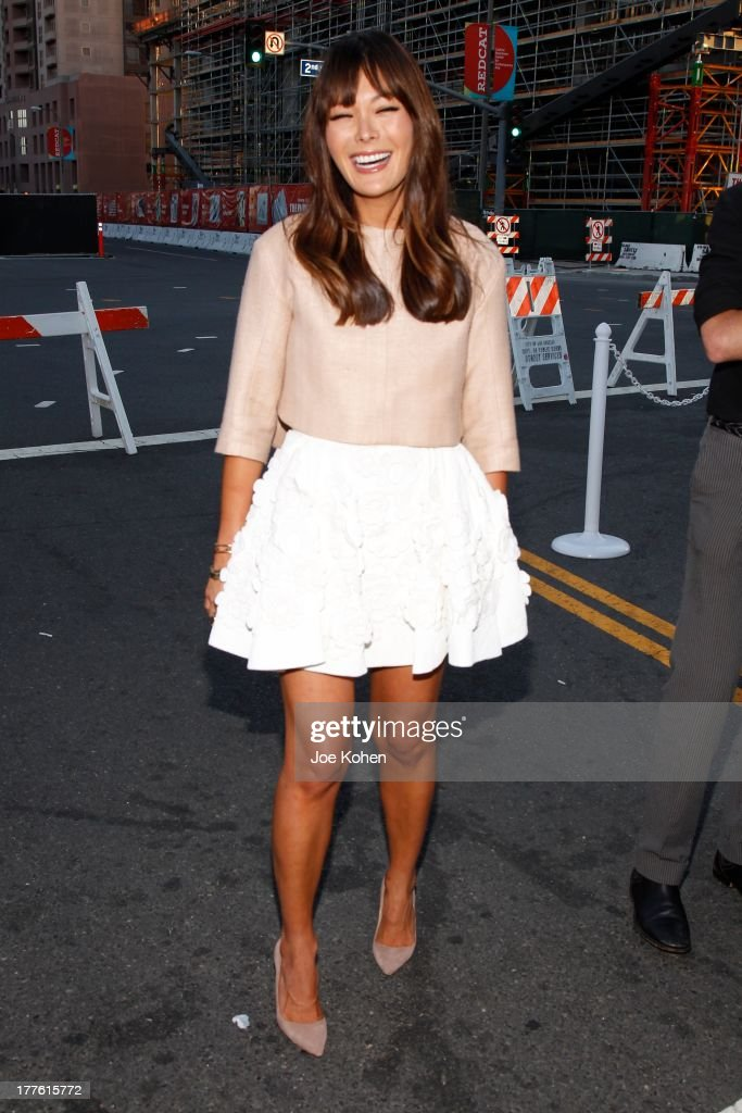 Actress Lindsay Price attends LEXUS Live On Grand At The 3rd Annual Los Angeles Food & Wine Festival on August 24, 2013 in Los Angeles, California.