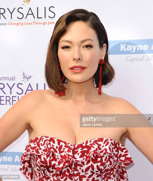 Actress Lindsay Price attends the 16th annual Chrysalis Butterfly Ball on June 3 2017 in Brentwood California