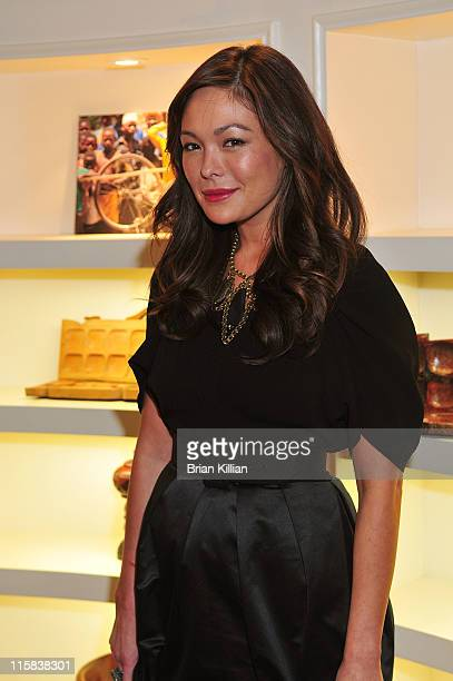 Actress Lindsay Price attends the 2nd annual HELP Malawi fundraising event at BCBG Max Azria November 11 2008 in New York City