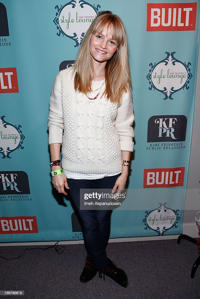 Actress Lindsay Pulsipher attends Day 3 of the Kari Feinstein Style Lounge on January 20, 2013 in Park City, Utah.
