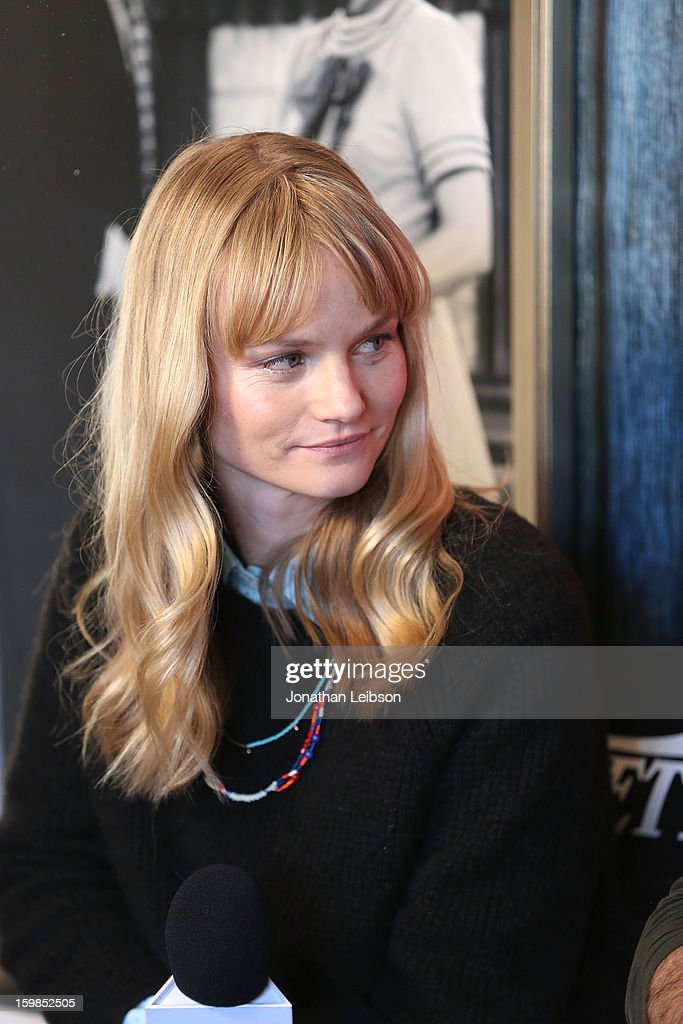 Actress Lindsay Pulsipher attends Day 3 of the Variety Studio At 2013 Sundance Film Festival on January 21, 2013 in Park City, Utah.
