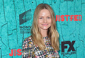 Actress Lindsay Pulsipher attends the premiere of FX's 'Justified' series finale at ArcLight Cinemas Cinerama Dome on April 13 2015 in Hollywood...