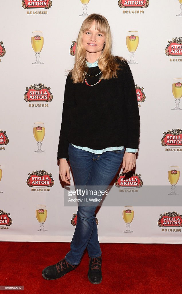 Actress Lindsay Pulsipher attends the Stella Artois press junket for 'The Ramblers' at Village at the Lift on January 21, 2013 in Park City, Utah.