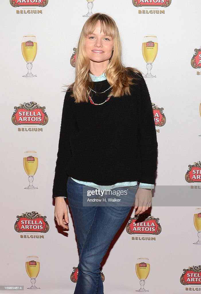 Actress <a gi-track='captionPersonalityLinkClicked' href=/galleries/search?phrase=Lindsay+Pulsipher&family=editorial&specificpeople=572940 ng-click='$event.stopPropagation()'>Lindsay Pulsipher</a> attends the Stella Artois press junket for 'The Ramblers' at Village at the Lift on January 21, 2013 in Park City, Utah.
