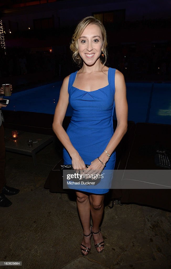 Actress Lindsay Seim attends Star Scene Stealers Event at Tropicana Bar at The Hollywood Rooselvelt Hotel on October 1, 2013 in Hollywood, California.
