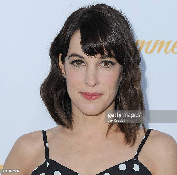 Actress Lindsay Sloane arrives at CBS Television Studios 3rd Annual Summer Soiree Party at The London Hotel on May 18 2015 in West Hollywood...