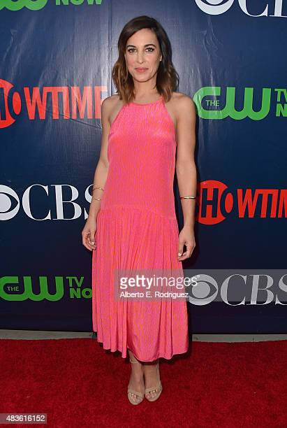 Actress Lindsay Sloane attends CBS' 2015 Summer TCA party at the Pacific Design Center on August 10 2015 in West Hollywood California