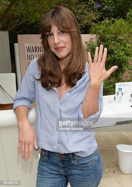 Actress Lindsay Sloane attends the 3rd Annual essie Emmy Retreat at the Hotel Bel Air on September 20 2013 in Los Angeles California