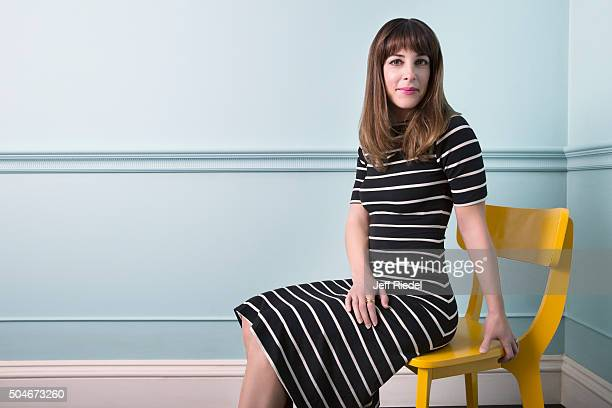 Actress Lindsay Sloane is photographed for TV Guide Magazine on January 12 2015 in Pasadena California