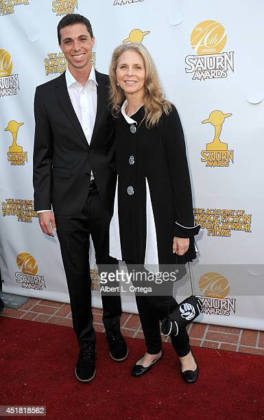 Actress Lindsay Wagner and son Alexi Kingi arrive for the 40th Annual Saturn Awards held at The Castaway on June 26 2014 in Burbank California