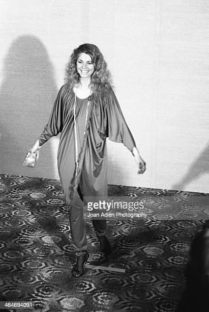 Actress Lindsay Wagner attends at the 30th Annual Emmy Awards on September 17 1978 at the Pasadena Civic Auditorium in Pasadena California
