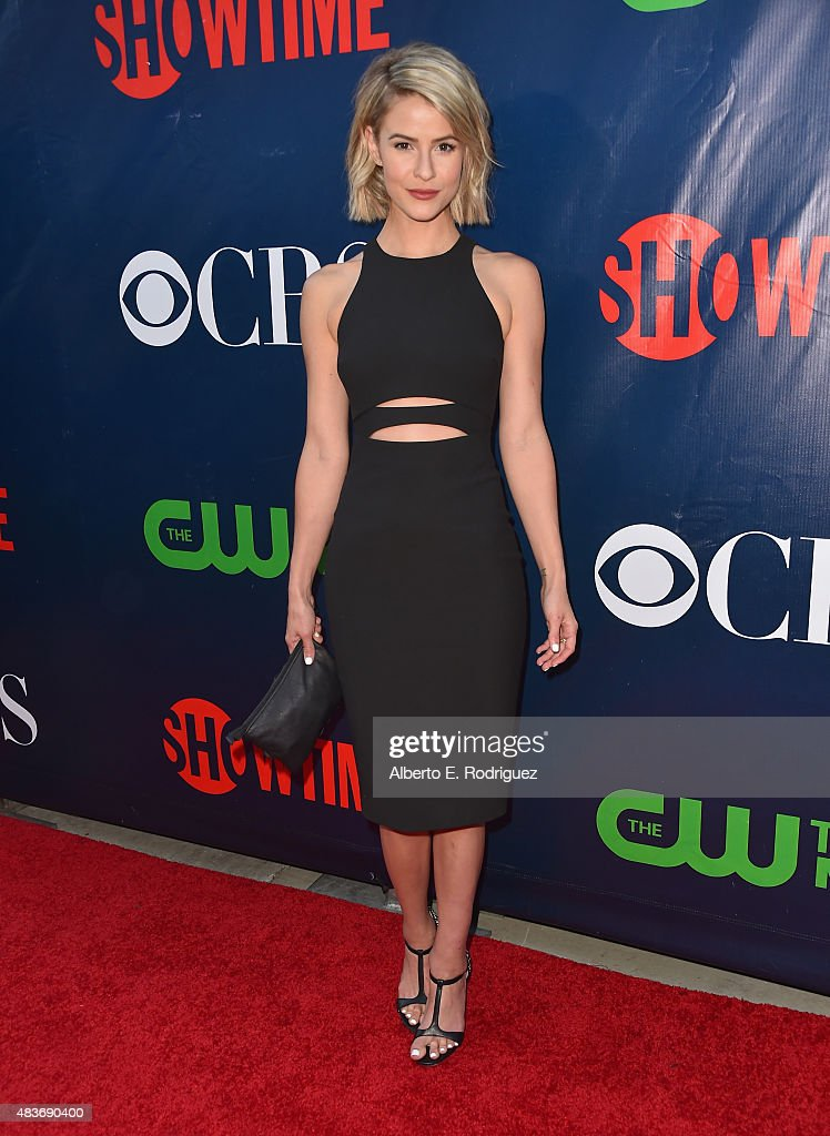 Actress Lindsey Godfrey attends CBS' 2015 Summer TCA party at the Pacific Design Center on August 10, 2015 in West Hollywood, California.