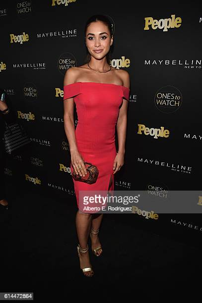 Actress Lindsey Morgan attends People's 'Ones to Watch' event presented by Maybelline New York at EP LP on October 13 2016 in Hollywood California