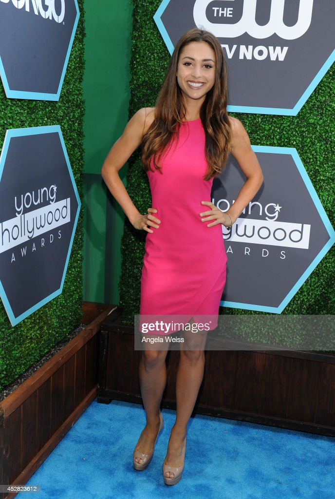 Actress Lindsey Morgan attends the 2014 Young Hollywood Awards brought to you by Samsung Galaxy at The Wiltern on July 27 2014 in Los Angeles...