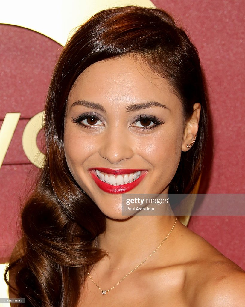 Actress Lindsey Morgan attends the QVC 5th Annual Red Carpet Style event at The Four Seasons Hotel on February 28 2014 in Beverly Hills California