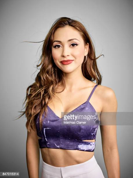 Actress Lindsey Morgan from 'The 100' is photographed for Entertainment Weekly Magazine on July 22 2016 at Comic Con in the Hard Rock Hotel in San...
