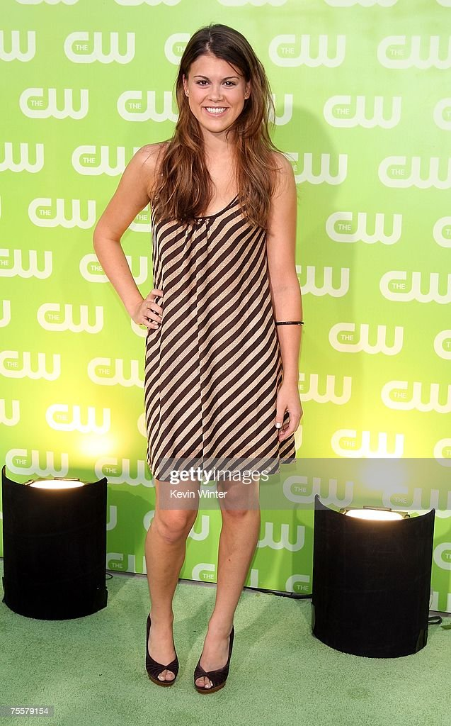 Actress Lindsey Shaw arrives to the CW Television Critics Association Press Tour party at the Fountain Plaza at the Pacific Design Center on July 20, 2007 in West Hollywood, California.