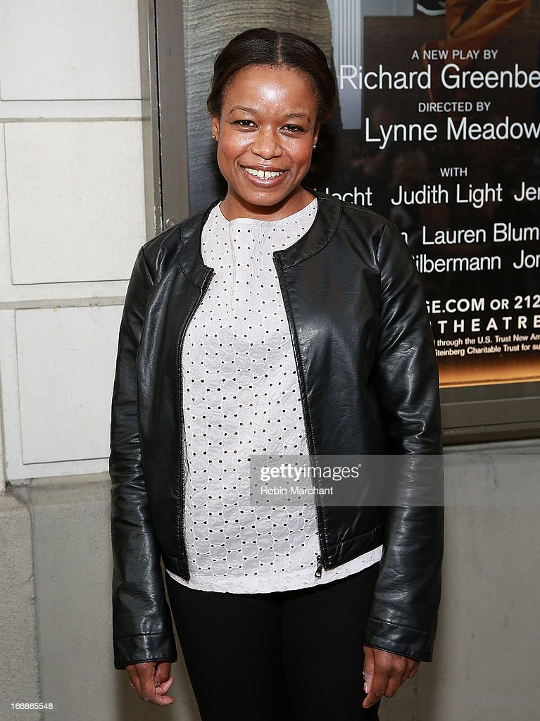 Actress Lindsy Taylor Bernstein attends the 'The Assembled Parties' opening night at Samuel J. Friedman Theatre on April 17, 2013 in New York City.