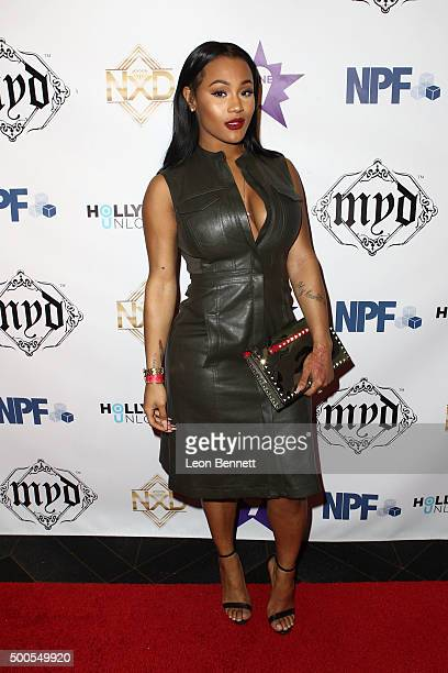 Actress Lira Galore attended the Hill Harper And Nate Parker Present 8th Annual Manifest Your Destiny Toy Drive And Fundraiser at Avalon on December...