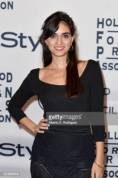 Actress Liraz Charhi arrives at the 13th Annual InStyle And The Hollywood Foreign Press Association's Toronto International Film Festival Party at...