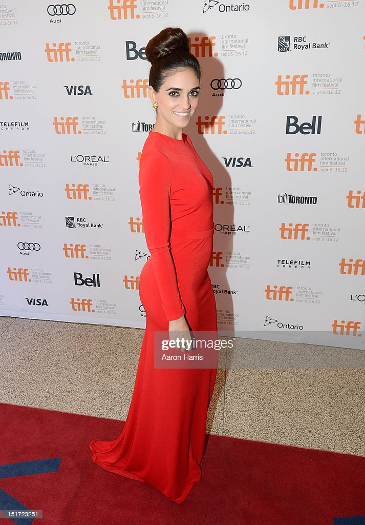 Actress Liraz Charhi attends the 'A Late Quartet' Premiere at the 2012 Toronto International Film Festival at The Elgin on September 10, 2012 in Toronto, Canada.