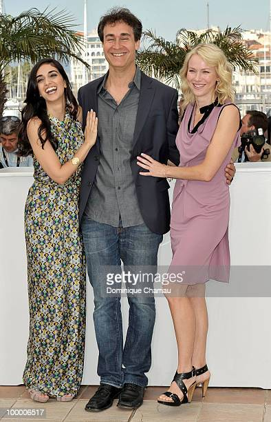 Actress Liraz Charhi director Doug Liman and actress Naomi Watts attend the 'Fair Game' Photo Call held at the Palais des Festivals during the 63rd...