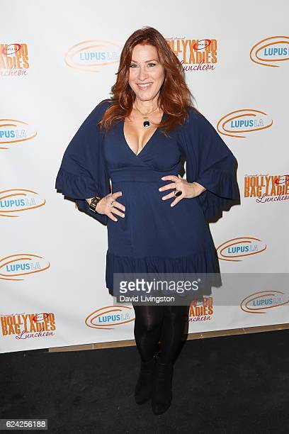 Actress Lisa Ann Walter arrives at the 14th Annual Lupus LA Hollywood Bag Ladies Luncheon at The Beverly Hilton Hotel on November 18 2016 in Beverly...