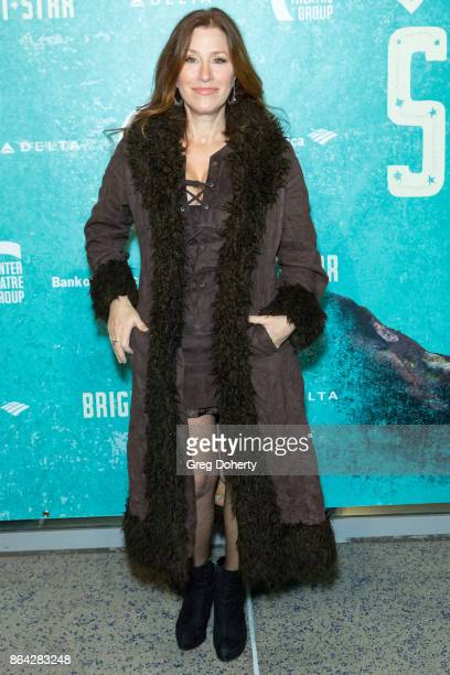 Actress Lisa Ann Walter arrives at the Opening Night Of 'Bright Star' at Ahmanson Theatre on October 20 2017 in Los Angeles California