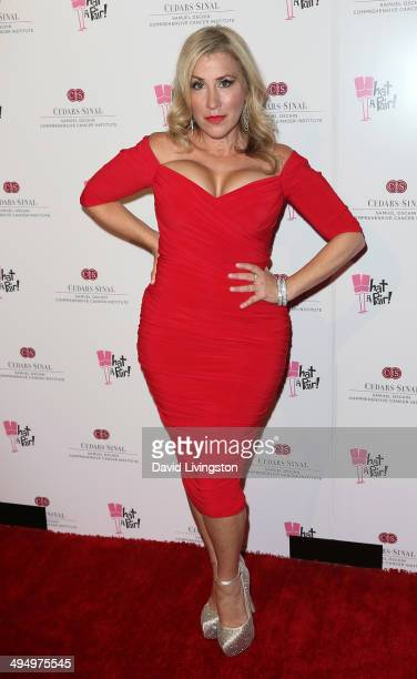 Actress Lisa Ann Walter attends the 10th anniversary What A Pair benefit concert at the Saban Theatre on May 31 2014 in Beverly Hills California