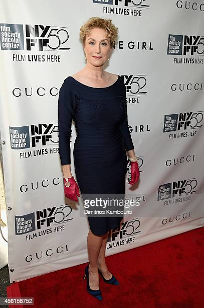 Actress Lisa Banes attends the Opening Night Gala Presentation and World Premiere of 'Gone Girl' 52nd New York Film Festival at Alice Tully Hall on...