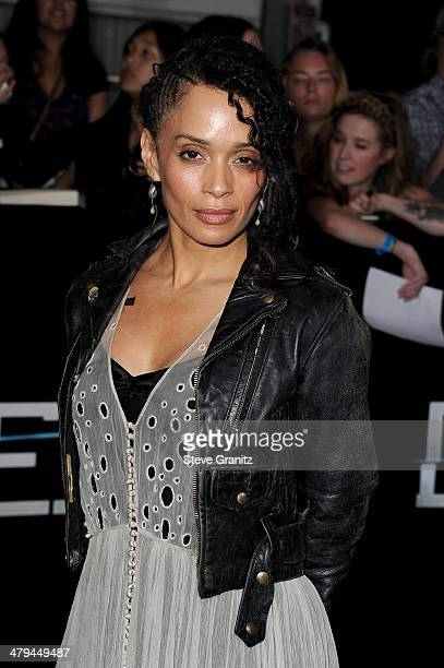 Actress Lisa Bonet arrives at the premiere of Summit Entertainment's 'Divergent' at the Regency Bruin Theatre on March 18 2014 in Los Angeles...