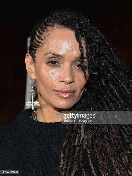 Actress Lisa Bonet attends a screening of Sundance Channel's 'The Red Road' at The Bronson Caves at Griffith Park on February 24 2014 in Los Angeles...