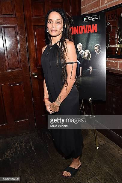 Actress Lisa Bonet attends a viewing party for Showtime's 'Ray Donovan' at O'Brien's Irish Pub on June 26 2016 in Santa Monica California