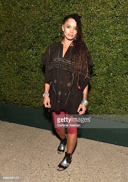 Actress Lisa Bonet attends Claiborne Swanson Frank's Young Hollywood book launch hosted by Michael Kors at Private Residence on October 2 2014 in...