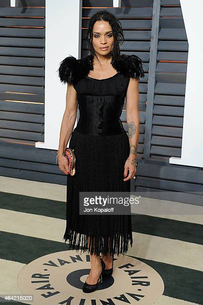 Actress Lisa Bonet attends the 2015 Vanity Fair Oscar Party hosted by Graydon Carter at Wallis Annenberg Center for the Performing Arts on February...
