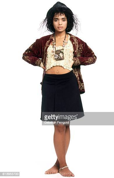 Actress Lisa Bonet October 1987 in New York City New York