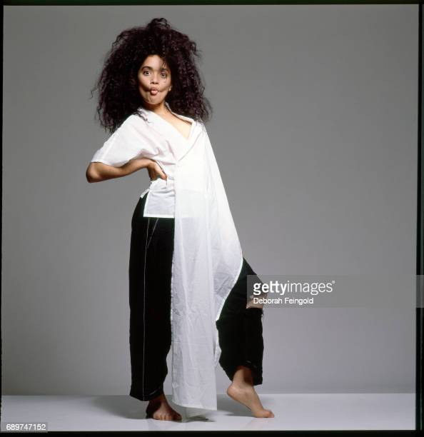 Actress Lisa Bonet poses for a portrait in 1986 in New York City New York