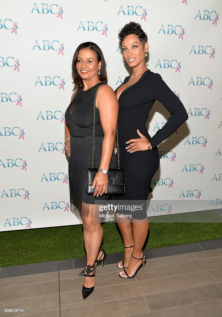 Actress Lisa Brunson and TV host Nicole Murphy attend the Associates For Breast and Prostate Cancer Studies' annual Mother's Day Luncheon at Four Seasons Hotel Los Angeles at Beverly Hills on May 4, 2016 in Los Angeles, California.